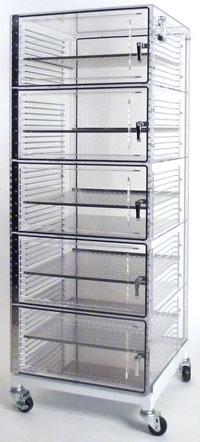 Acrylic Desiccator Storage Cabinets Tdi International